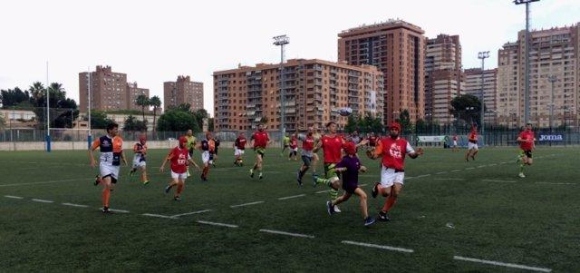 El Valencia Rugby Festival echa el cierre con una exhibición de Rugby inclusivo