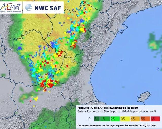 Las tormentas han arrancado del noroeste de la región