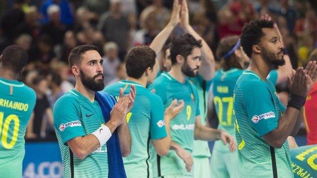 El FC Barcelona Lassa termina cuarto en una Champions que se lleva el RK Vardar