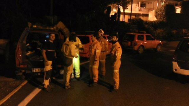 Rescate de un padre y un hijo en Andilla