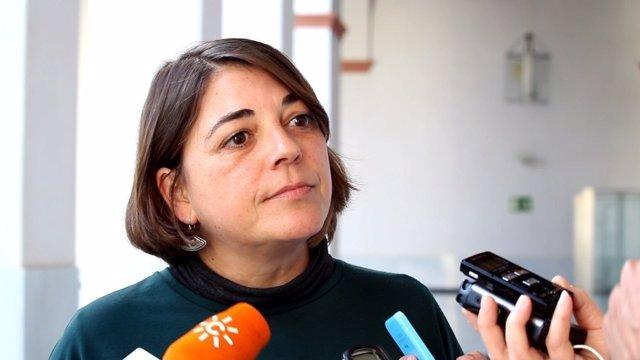 La portavoz adjunta de IULV-CA Elena Cortés