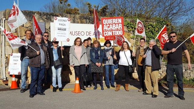 Huelga Museo Altamira