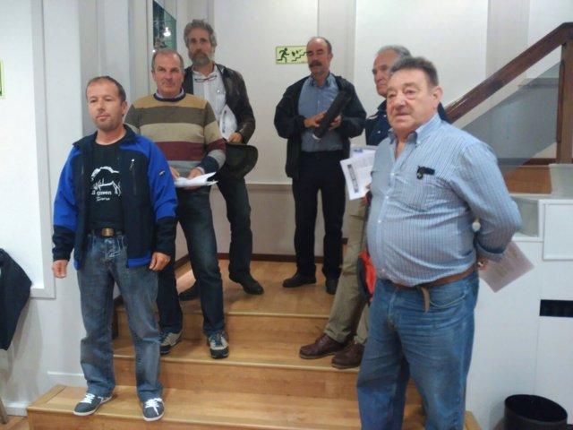 Miembros de Asturias Ganadera.