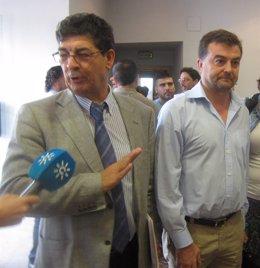 Diego Valderas y Antonio Maíllo