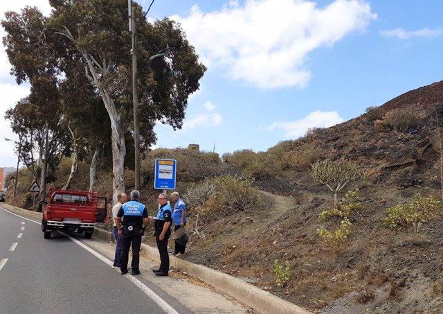 Np La Policía Local Impide La Sustracción De Picón De Un Espacio Natural