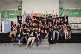 Una red que conecta a pilotos de drones con usuarios gana en Sevilla el 'Sevilla Startup Weekend Aeroespacial'