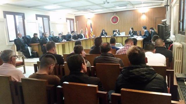18 Acusados Por Narcotráfico En Palma Este Lunes