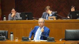 Gimeno descarta el concurso oposición para las plazas del Instituto Aragonés de Estadística