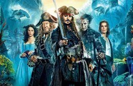 Poster piratas del caribe 5