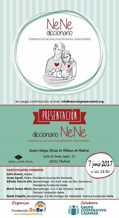 La Fundación NeNe elabora el primer diccionario ilustrado sobre neurología neonatal para padres con niños ingresados