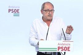 """PSOE-A ve un """"acierto"""" contar con Valderas para el Comisionado de Memoria Histórica y espera que genere consenso"""