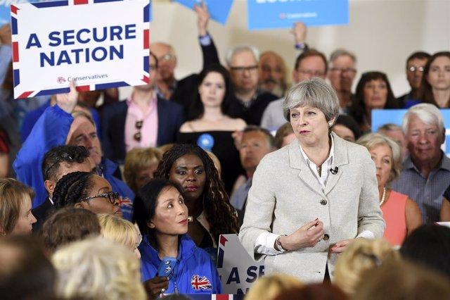Campaña electoral en Reino Unido
