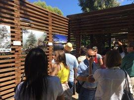 La Diputación muestra dos exposiciones sobre parajes naturales y biodiversidad de la provincia