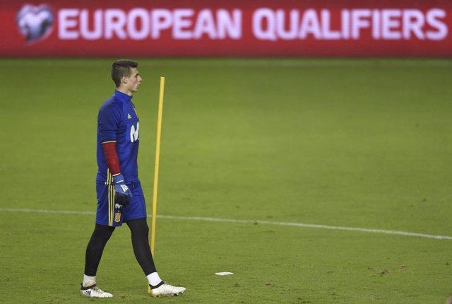 Kepa Arrizabalaga selección española España