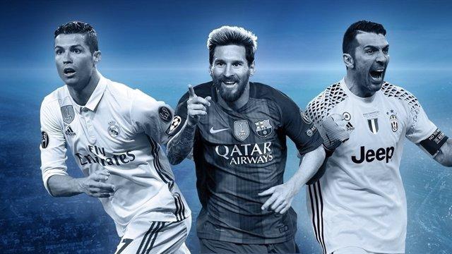 Equipo ideal UEFA Champions Liga Campeones