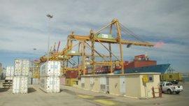 """Casi el 100% de los estibadores secunda la huelga en el Puerto de València que se desarrolla """"con normalidad"""""""