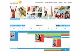 La web de Palma Jove crea la Agenda#estiu2017 con toda la información de ocio de este verano en Mallorca