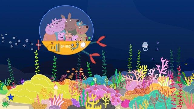 L'Oceanogràfic celebrará el Día de los Océanos con Peppa Pig