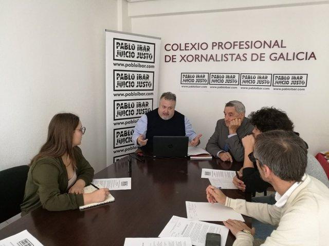 Asociación Pablo Ibar en Santiago