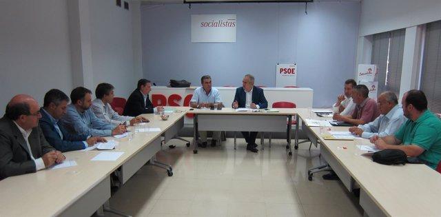 Reunión de González Tovar y los representantes de organizaciones agrarias