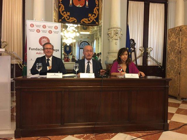 Presentación fundación málaga agenda cultural malagueña ayuntamiento de la torre