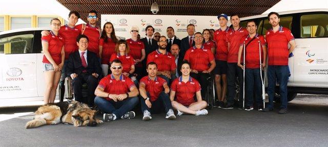 Comité Paralímpico Español Toyota España Jaime González Castaño