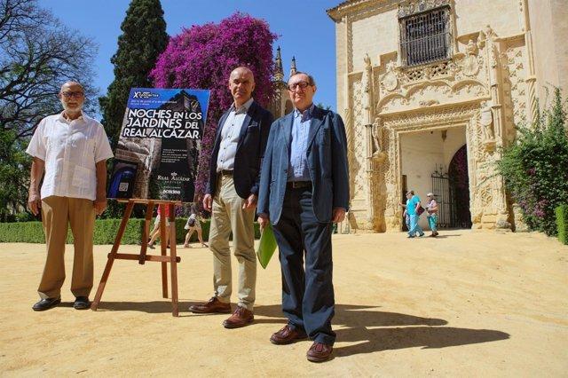Presentación de las 'Noches en los Jardines del Real Alcázar'