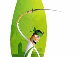 'Alegría', el cartel de las Fiestas de San Lorenzo, tiene a un danzante como protagonista