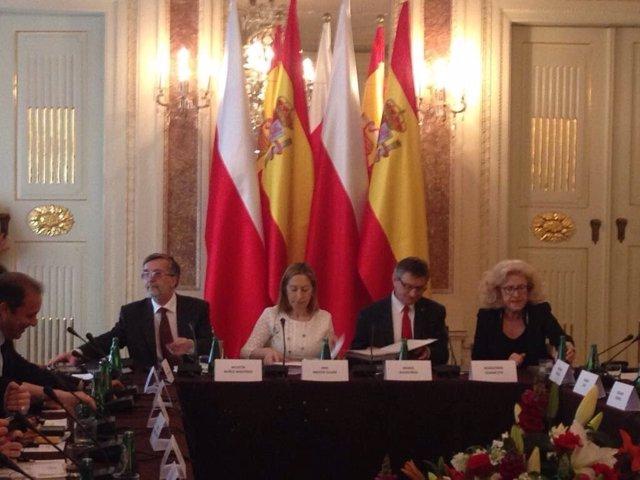 Ana Pastor, en el V Foro Parlamentario Hispano-Polaco