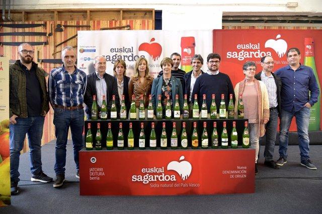 Presentación de Euskal Sagardoa.