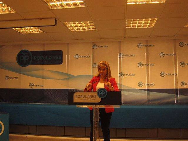Eva Ortiz en la sede del PPCV