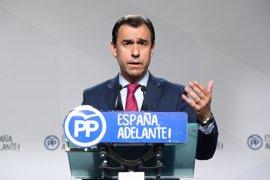 """El PP ve en la moción de censura de Podemos una """"lucha diábólica"""" entre Sánchez e Iglesias por ser líder de la izquierd"""