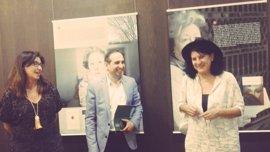 La Junta inaugura la exposición sobre la poeta Julia Uceda en el CAL