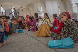 UNICEF advierte de que al menos 100.000 niños están en riesgo por el aumento de la violencia en Mosul