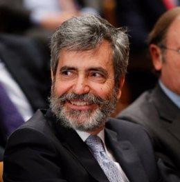 Carlos Lesmes, presidente del Consejo de Poder Judicial