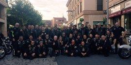 La asociación motera 'Cabaleiros do Ferro', de ruta Celta por el Norte, llega este martes a Gijón