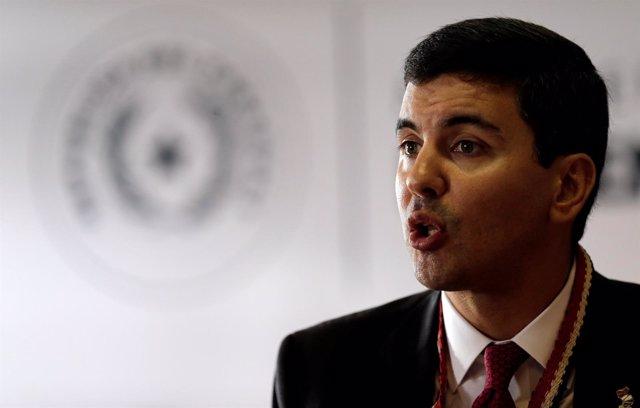 El ex ministro de Hacienda de Paraguay Sebastián Peña