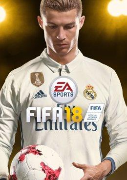Cristiano Ronaldo, portada del videojuego FIFA 18