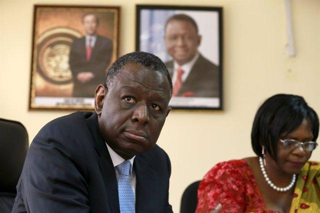 El director ejecutivo del FPNU, Babatunde Osotimehin