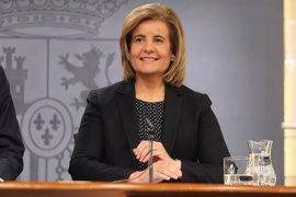 La ministra Fátima Báñez asiste este miércoles a la celebración del 40 aniversario de la FEHM