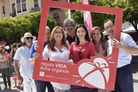 El Reina Sofía de Córdoba arranca su XV Semana del Donante homenajeando a los 961 donantes de órganos y familiares
