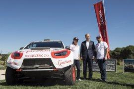 El Acciona 100% EcoPowered, primer coche eléctrico que competirá en un rally europeo