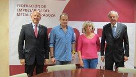 Sindicatos y empresarios del metal de Zaragoza firman el convenio colectivo 2017-2019