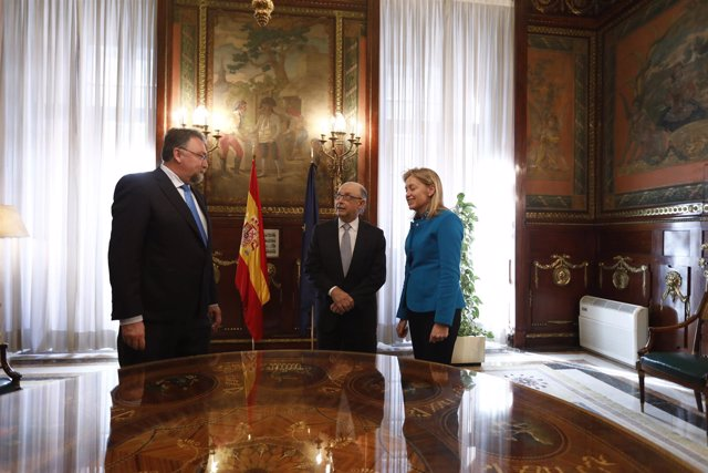 Montoro recibe a Cristina Coto de la Mata y a Isidro Martínez Oblanca