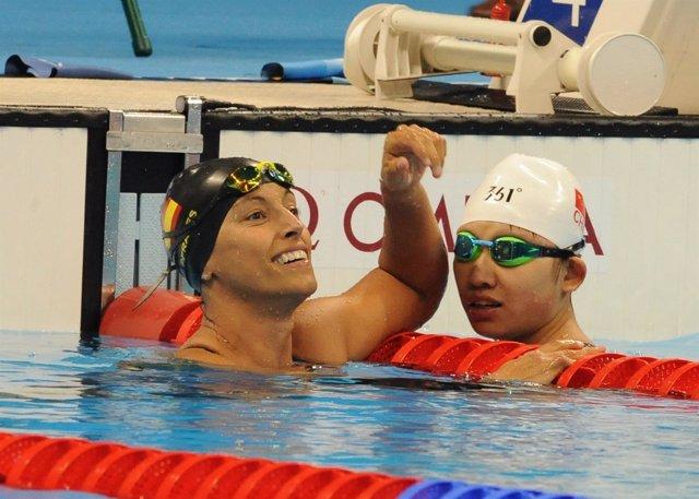 Teresa Perales en los Juegos de Río