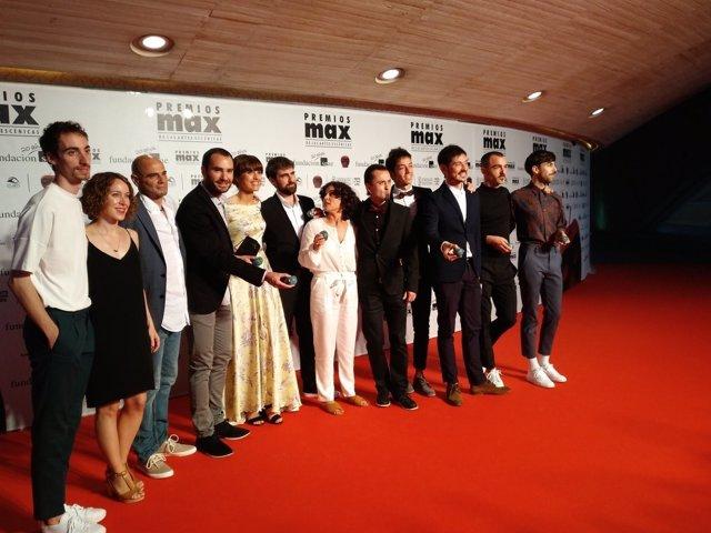 XX edición de los Premios Max de las Artes Escénicas