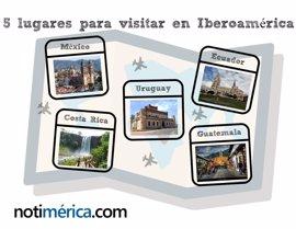 5 lugares para ir de vacaciones en Iberoamérica sin gastar mucho dinero