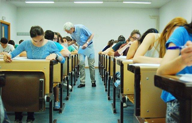 Selectividad, PAEG, exámenes, universitarios, universidad