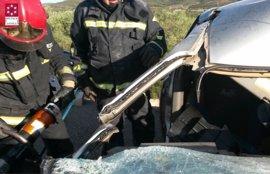 Un fallecido y dos heridos en un accidente múltiple en Alcalà de Xivert (Castellón)