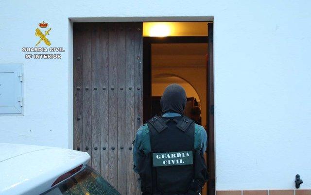 Operación antidroga REKO II de la Guardia Civil en Mallorca